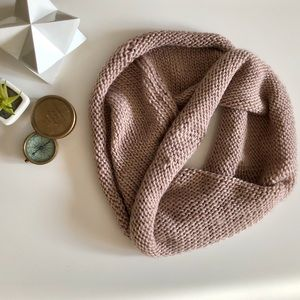 ✨$5 ADD ON DEAL! Cream Colour Infinity Scarf
